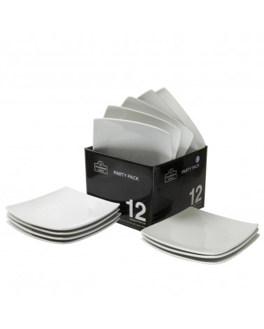 Party Packs Coupe Bread & Butter Plate Set Of 12