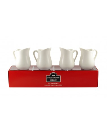 Tid Bit Sets Red Box Milk Jug Set Of 4