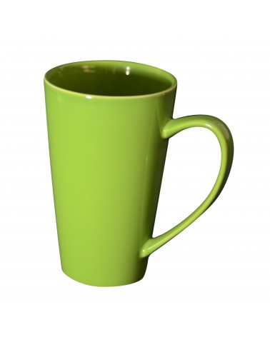 Oversized Latte Mug Green
