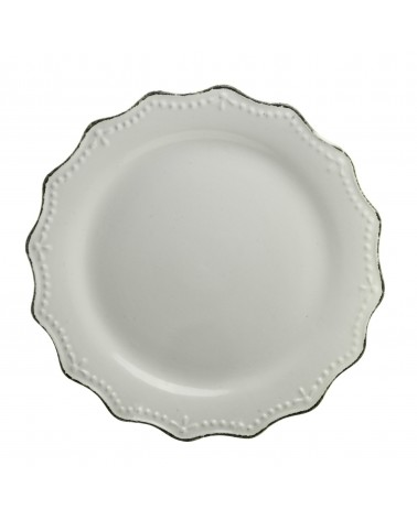 Oxford Dinner Plate - Cream