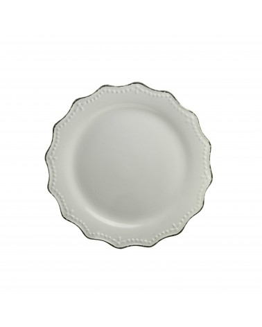 Oxford Salad Plate - Cream