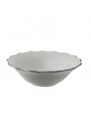 Oxford Ceral Bowl - Vintage White