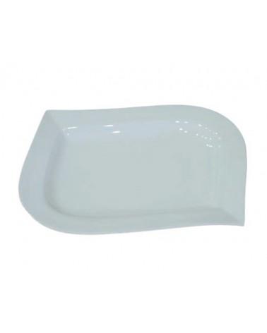 "Whittier 12"" x 8.5"" Bend Angle Platter"