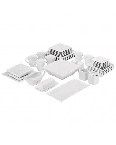 Simply Square 40pc Dinnerware Set
