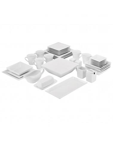 Simply Square 40pc Dinnerware Set