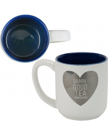 DAMN GOOD TEA- METALLIC LARGE MUG