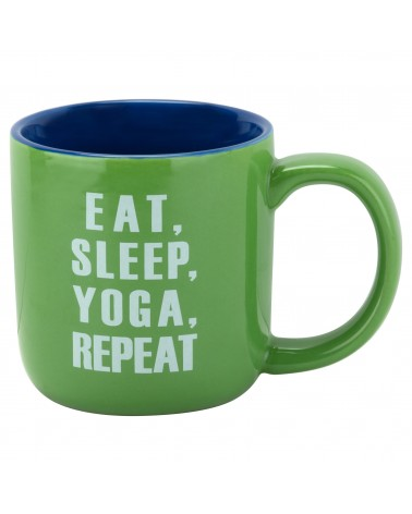 EAT SLEEP YOGA MUG