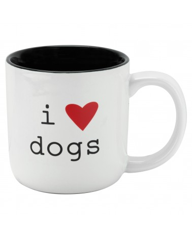 I LOVE DOGS MEDIUM MUG
