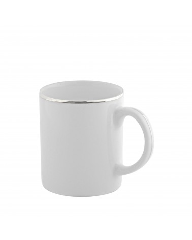 Silver Band  C-Handle Mug (8 oz.)