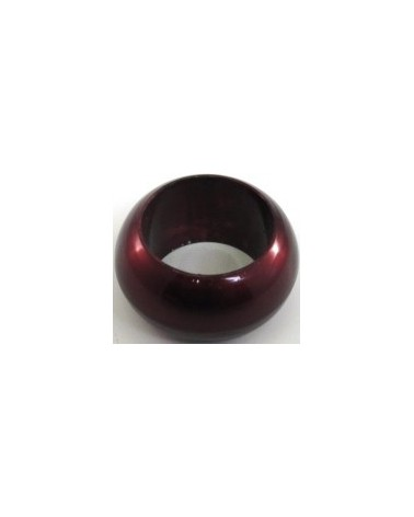 Lacquer Red Napkin Rings