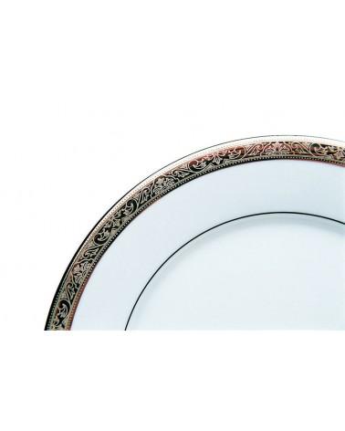"Paradise Platinum 10.625"" Dinner Plate"