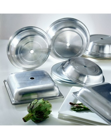 """Plate Covers  11"""" Round Cover 11"""" Round Metal Plate Cover"""