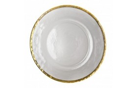 Charger Plates and Glass Dinnerware | Ten strawberry street , pfaltzgraf, dining sets, wedding gifts on sale
