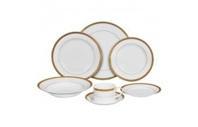 Athens Gold, Formal Dinnerware from Ten strawberry Street