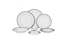 Athens Platinum, Formal Dinnerware from Ten strawberry Street