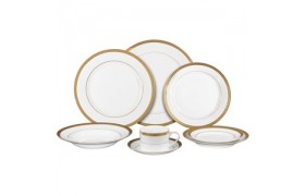 Luxor Gold, Formal Dinnerware from Ten strawberry Street