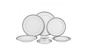Luxor Platinum, Formal Dinnerware from Ten strawberry Street