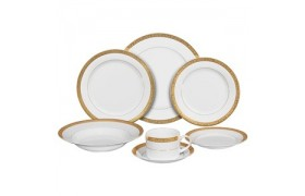 Paradise Gold, Formal Dinnerware from Ten strawberry Street