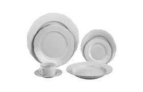 Vine Silver Line, Mettalic Dinnerware from Ten strawberry Street